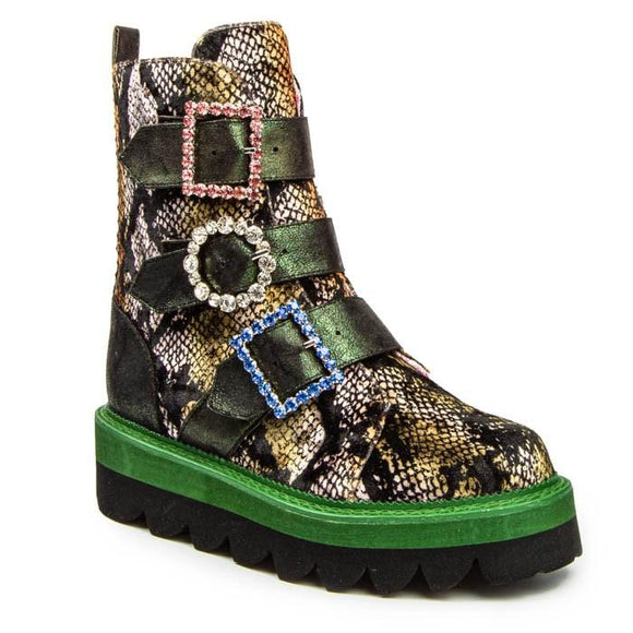 Torque Green - Rockamilly-Shoes-Vintage