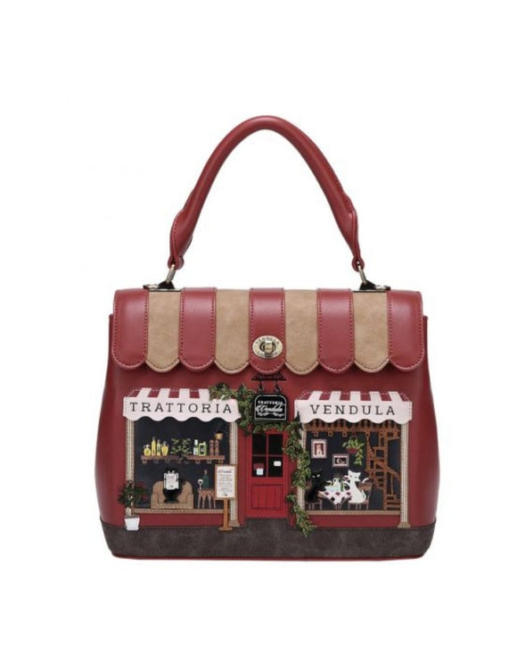 Trattoria Grace Bag - Rockamilly-Bags & Purses-Vintage
