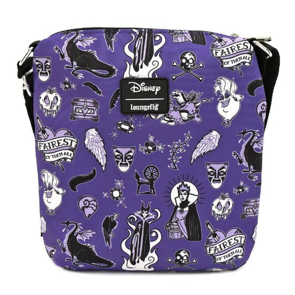 Villains Icons Passport Bag - Rockamilly-Bags & Purses-Vintage