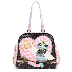What a Hoot Bag Irregular Choice - Rockamilly-Bags & Purses-Vintage