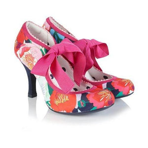 Willow Floral - Rockamilly-Shoes-Vintage