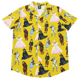 Wizard of Oz Button Up Shirt - Rockamilly-Tops-Vintage