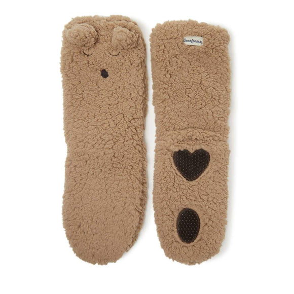 Women's Fluffy Animal Slipper Socks - Rockamilly-Accessories-Vintage