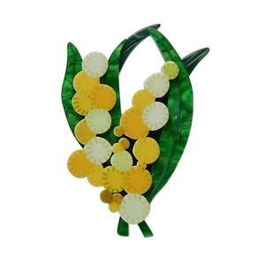 Woven Wattle Brooch Erstwilder - Rockamilly-Accessories-Vintage