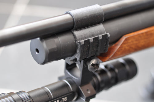 Air Arms S200 Picatinny torch / laser mount