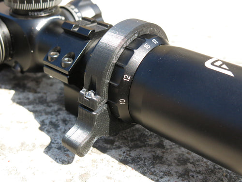 Zoom and Focus Levers for Falcon M18 Scope