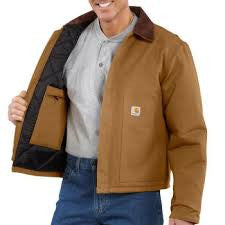 Carhartt - Men's Duck Traditional Jacket/Arctic-Quilt Lined - J002