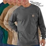 Carhartt - Men's Long Sleeve Workwear Pocket T-Shirt - K126