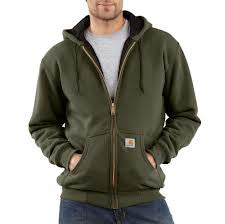 Carhartt - Rain Defender Rutland Thermal-Lined Hooded Zip-Front Sweatshirt  (Formerly J149) - 100632