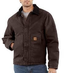 Carhartt - Men's Sandstone Traditional Jacket/Arctic Quilt Lined - J22