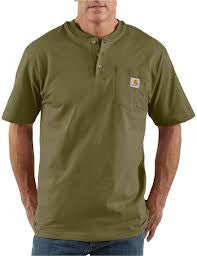 Carhartt - Men's Short Sleeve Workwear Henley - K84