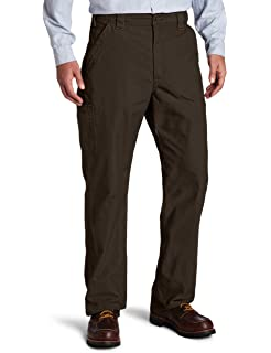 Carhartt - Men's Canvas Work Dungaree - B151 Dark Khaki