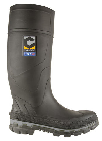 "Chinook ""Kickaxe"" Soft Toe Rubber Boot - 3560-001"