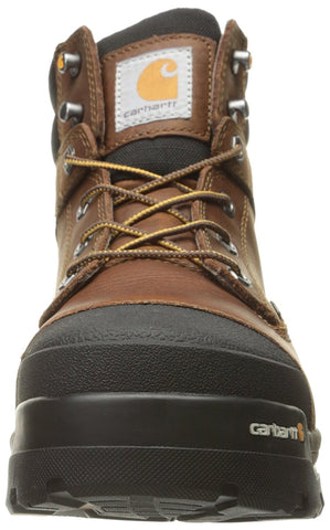 9ed091fa947 Carhartt - MEN'S 6 INCH BROWN GROUND FORCE COMP TOE WORK BOOT ...