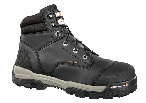 Carhartt - MEN'S 6 INCH BLACK GROUND FORCE COMP TOE WORK BOOT - CME6351