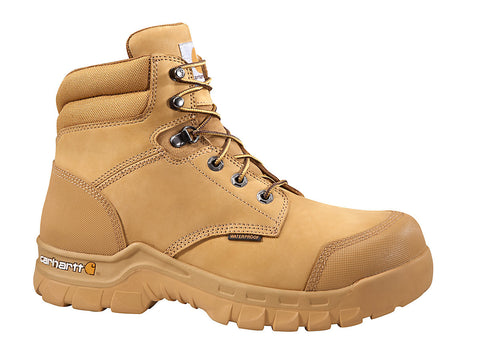 Carhartt 6-INCH WHEAT RUGGED FLEX® WORK BOOT - CMF6356