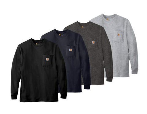 Carhartt - WORKWEAR LONG-SLEEVE POCKET T-SHIRT - K126