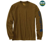 Carhartt - Long-Sleeve Graphic Logo T-Shirt - K231