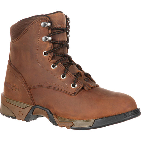 "ROCKY WOMEN'S AZTEC LACE-UP WORK BOOT 6"" - RKK0137"