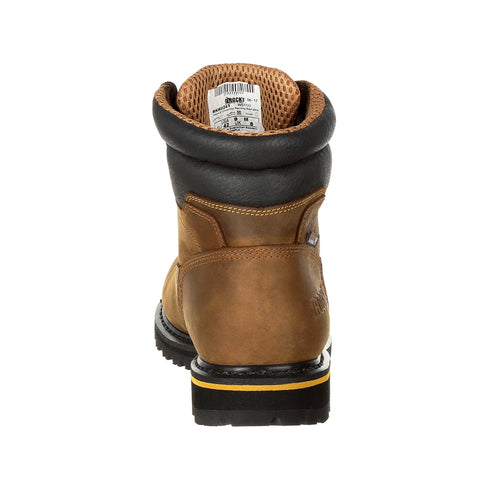 3865d702236 ROCKY GOVERNOR COMPOSITE TOE WATERPROOF 6 INCH WORK BOOT 6 ...