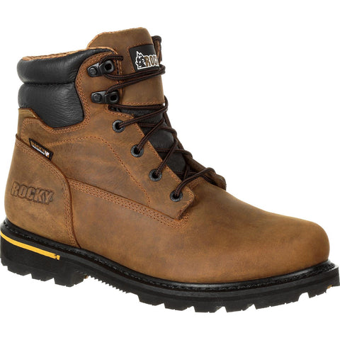 "ROCKY GOVERNOR COMPOSITE TOE WATERPROOF 6 INCH WORK BOOT 6"" - RKK0243"
