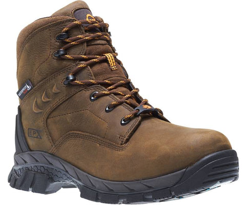 "Wolverine Boot -GLACIER ICE WATERPROOF INSULATED CARBONMAX 6"" COMPOSITE TOE WORK BOOT W10646"