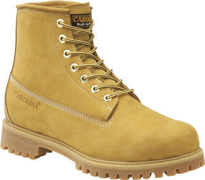 "Carolina - Men's 6"" Waterproof Wheat Work Boot - CA3045"