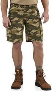 Carhartt - Men's Rugged Cargo Camo Short - 100279