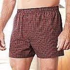 Players 50/50 Big Men's Broadcloth Boxer