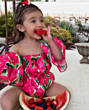 Sweet melon romper