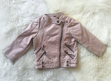 Tough chick pu leather jacket