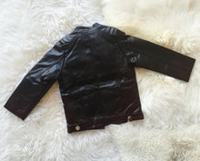 Tough guy pu leather biker jacket