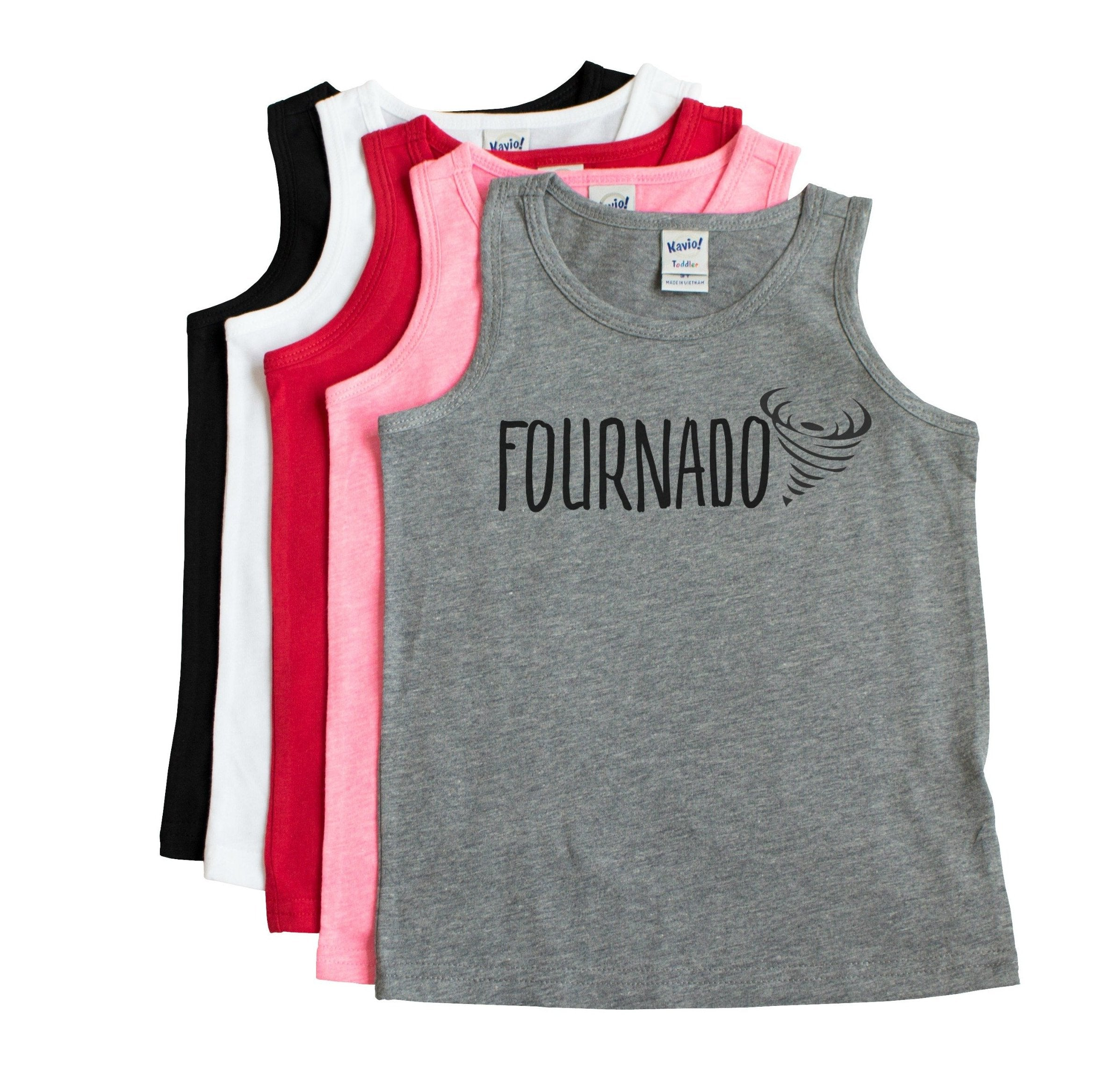 Fournado Four Year Old Tank Top