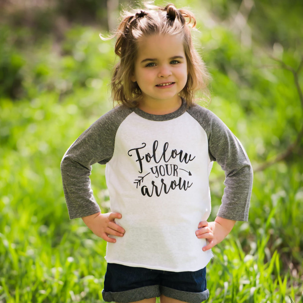 Follow Your Arrow Inspirational Shirt For Girls | Be Yourself Tee
