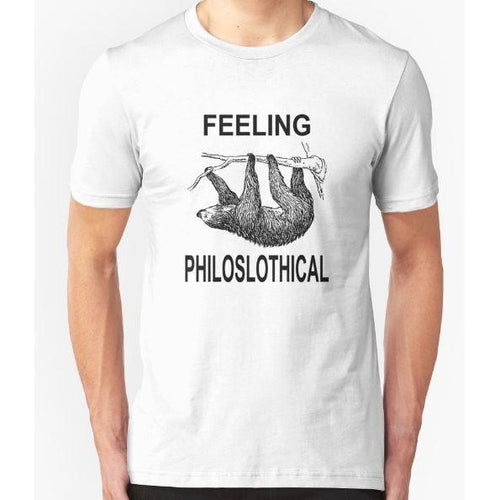 T-Shirt Sloth Feeling Philoslothical