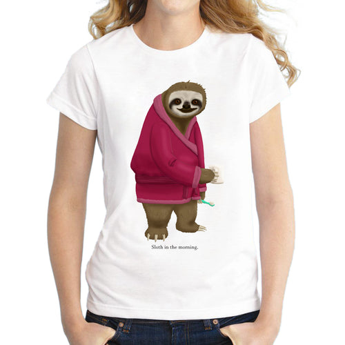 T-Shirt Sloth In The Morning