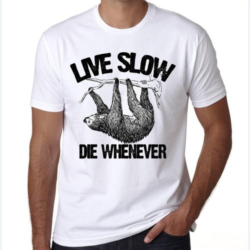 T-Shirt LIVE SLOW DIE WHENEVER