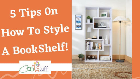 5 Tips On How To Style A Book Shelf!