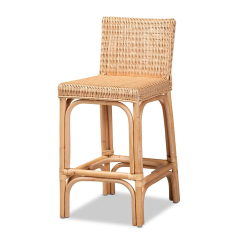 Athena Rattan Counter Stool - Cool Stuff & Accessories