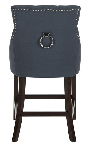 Eleni Tufted Navy Back Counter Stool - Cool Stuff & Accessories