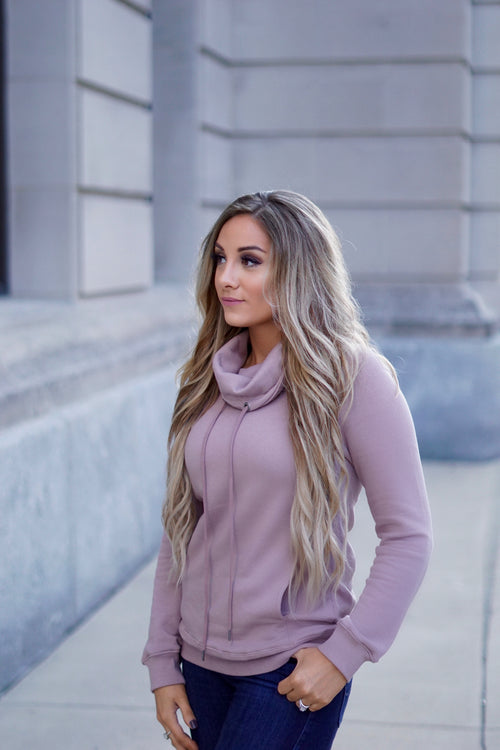 Dusty Mauve Sweatshirt