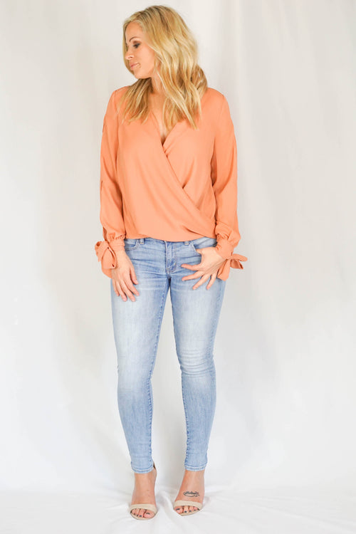 Jessica Terracotta Blouse