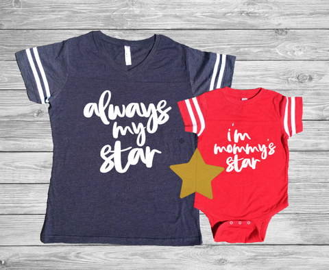 Always My Star - Patriotic Mommy & Me Set