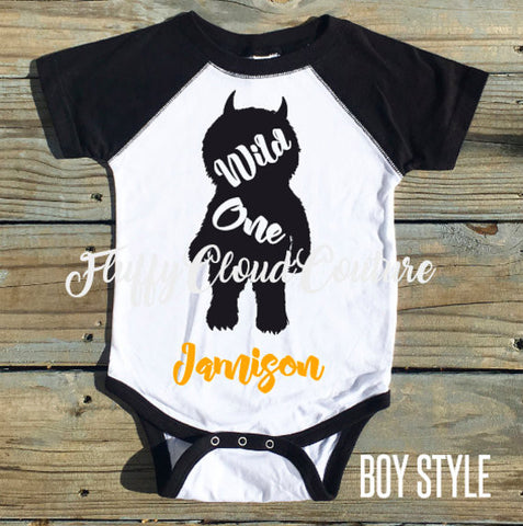 Boy Style - Wild One - Infant/Toddler/Youth Shirt