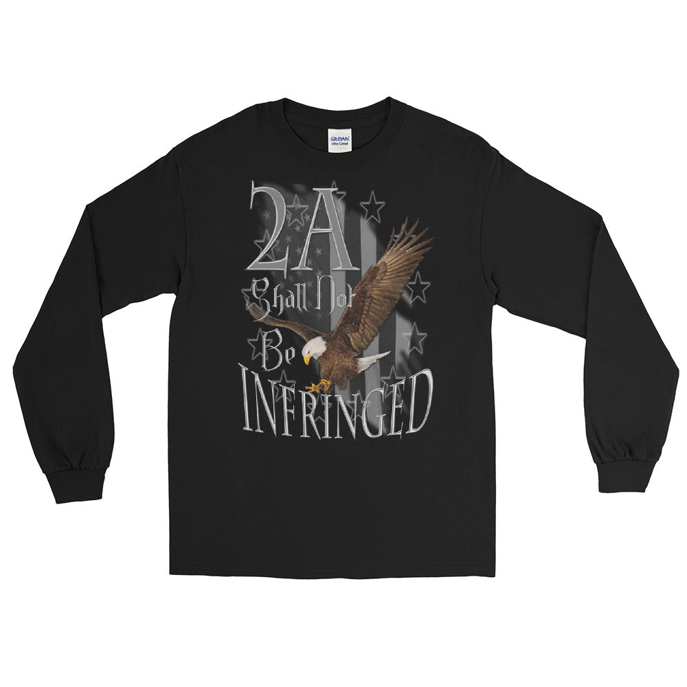 Men's Long Sleeve Shirt 2A/Not Infringed