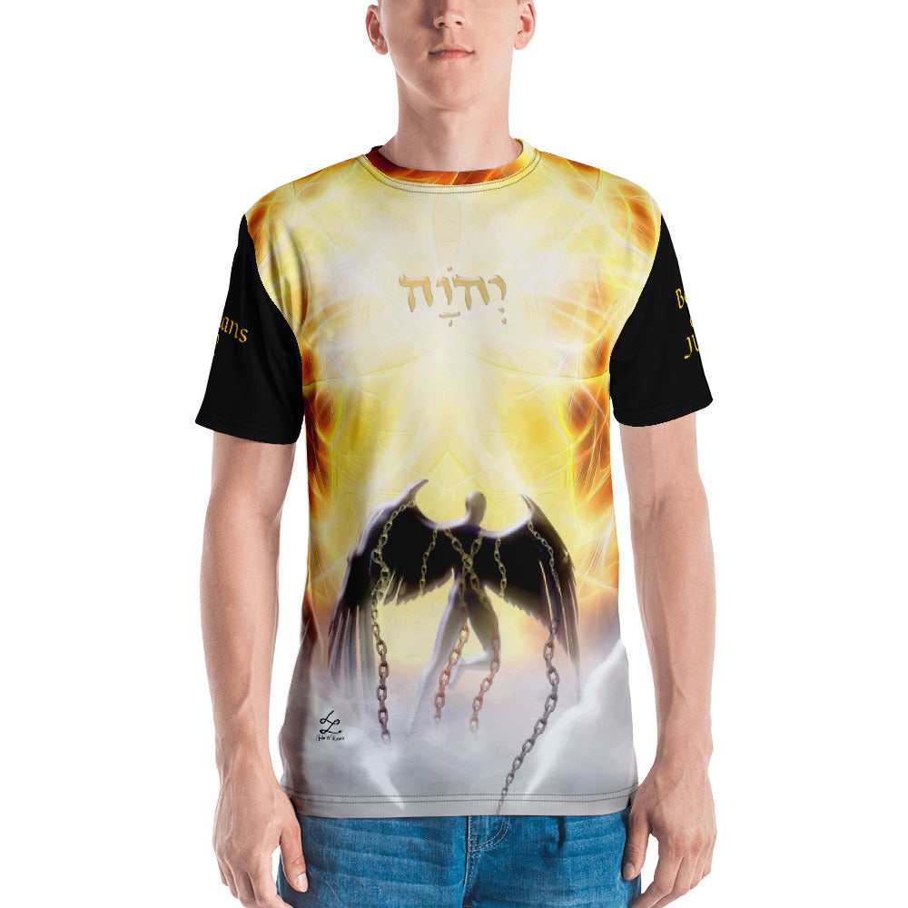 Men's T-shirt YHWH is JUDGE
