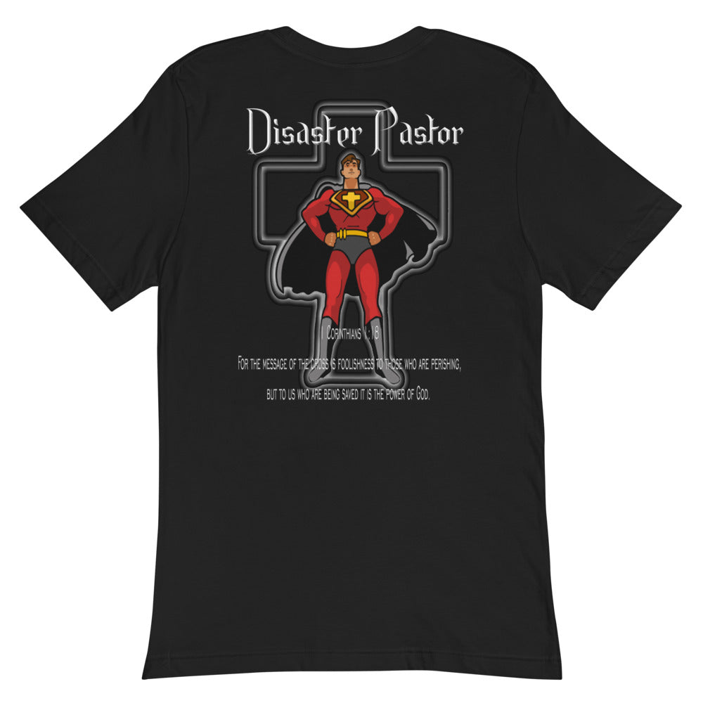 Unisex Pocket T-Shirt Disaster Pastor