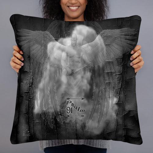 Basic Pillow Psalm 91 22x22