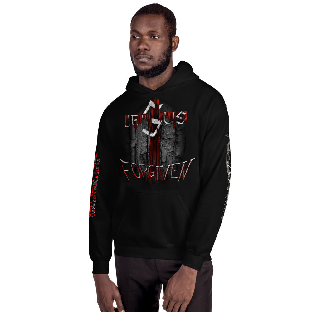 Unisex Hoodie Jesus/Forgiven/Psalm91