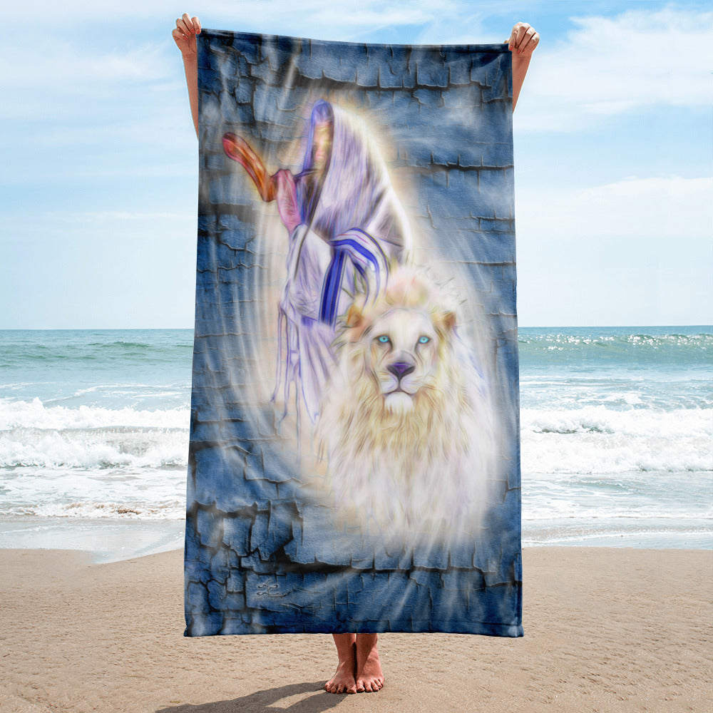 Towel Judahs Praise blue